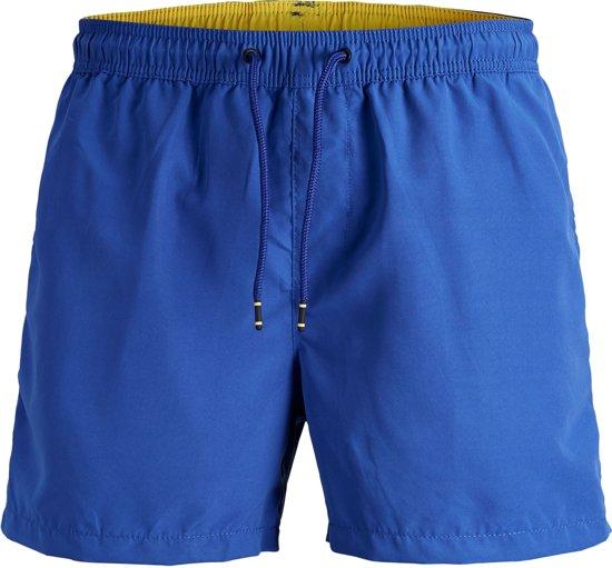 d57e451edf97aa bol.com | Jack & Jones Zwembroek - Maat XL - Mannen - blauw/geel