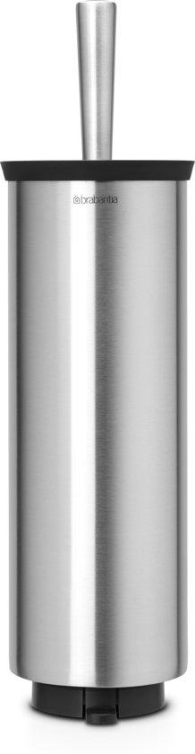 Brabantia Toiletborstel met houder - Matt Steel