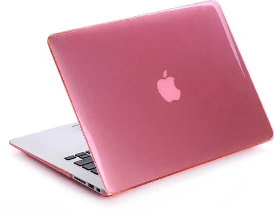 57a663163eb Lunso - hardcase hoes - MacBook 11 inch - glanzend lichtroze