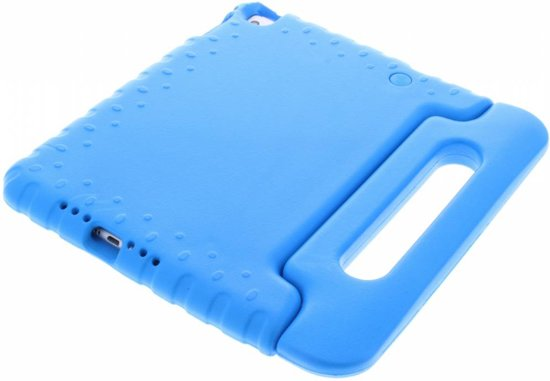 Kidsproof Backcover met handvat iPad Mini 4 tablethoes - Blauw