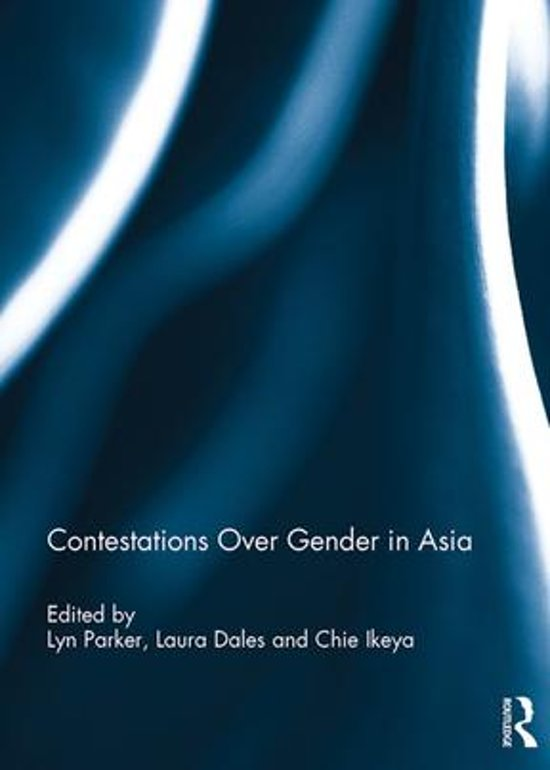 Contestations Over Gender in Asia
