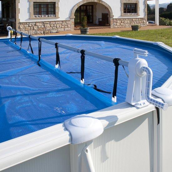 Gre Oproller Voor Zomerkleed Bovengrondszwembad 600 Cm Wit