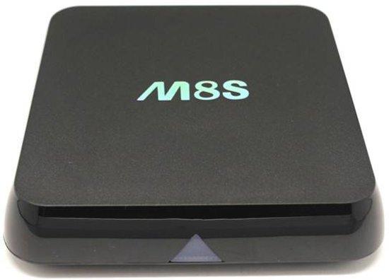 M8s Android Tv Box Mediaspeler Mediabox Mini Pc Kodi