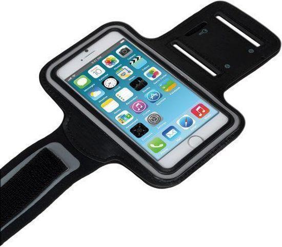 Zwart Sportarmband Hardloopband Nokia 7 Plus