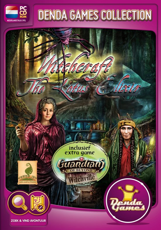 Witchcraft, The Lotus Elixir incl. Guardians of Beyond, Witchville - Windows