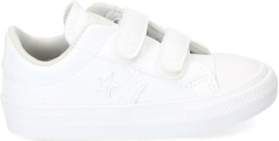 Converse - Sp 2v Ox - Lage sneakers - Jongens - Maat 22 - Wit;Witte - White/White/White