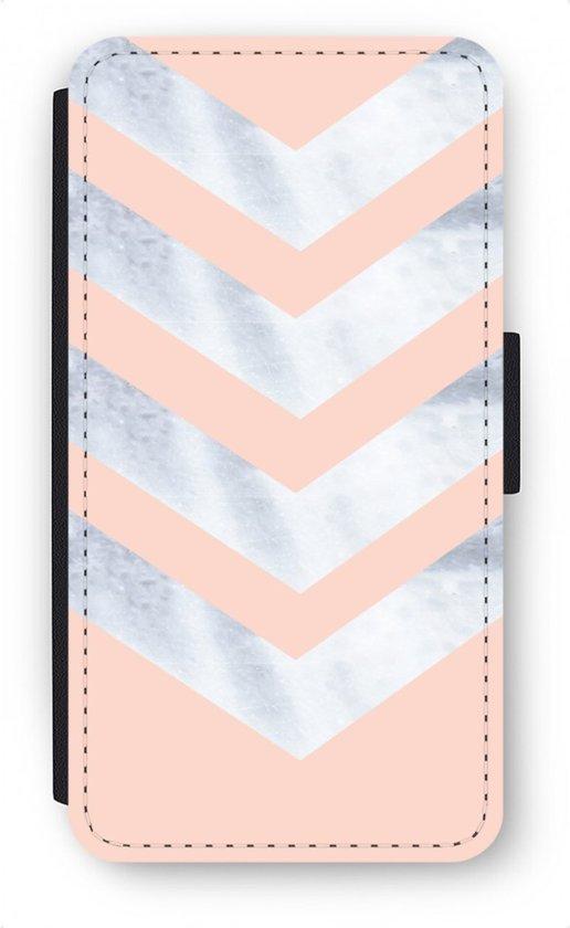 Samsung Galaxy S6 Flip Hoesje - Marmeren pijlen