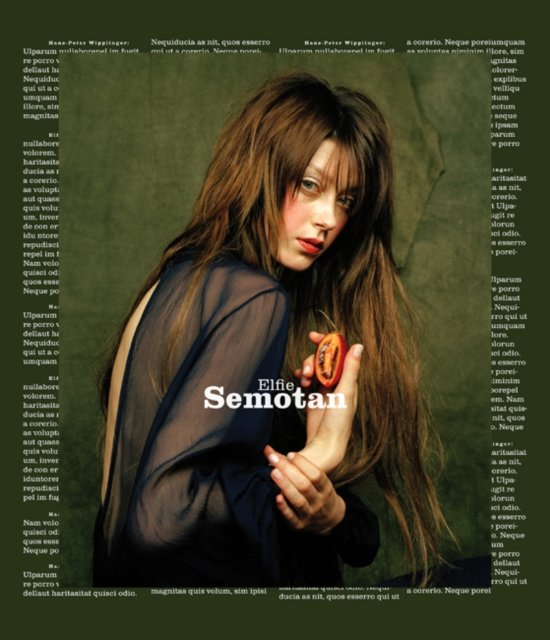 Boek cover Elfie Semotan van Monika Faber (Paperback)