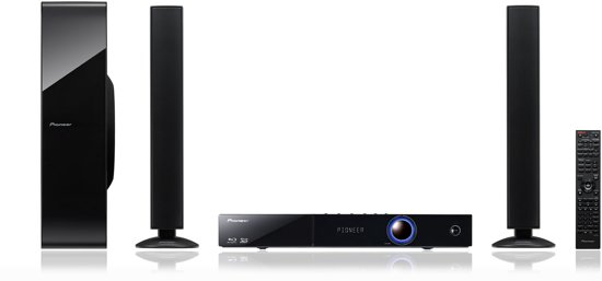 Pioneer Home Cinema System Blu Ray Bcs