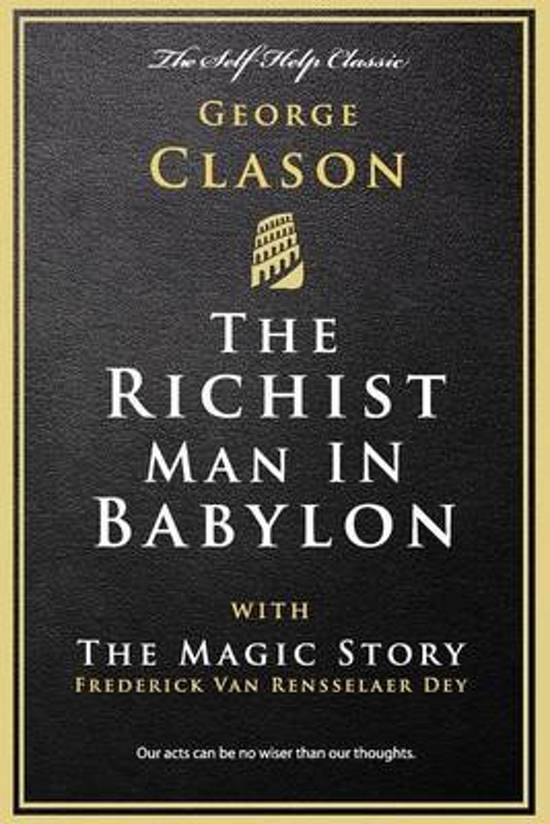 Boek cover The Richest Man in Babylon van George Clason (Paperback)