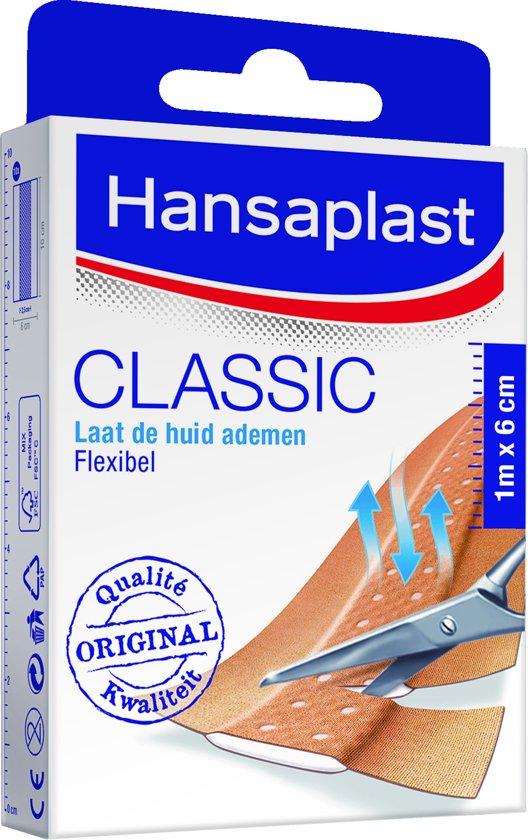 Hansaplast Classic Pleisters - 1m x 6cm