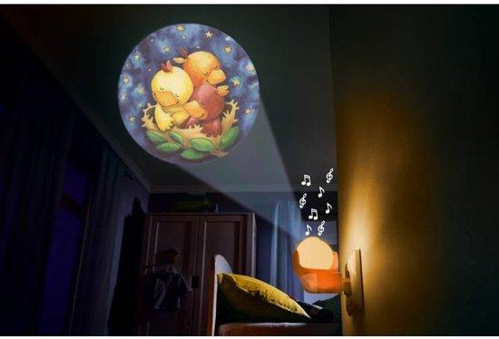 Haba Nachtlampje Plugin Met Muziek Dromende Dieren Groen 8 Cm