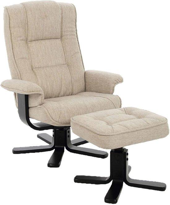 Relaxstoel Met Hocker.Bol Com 24designs Verstelbare Relax Fauteuil Larsson Hocker