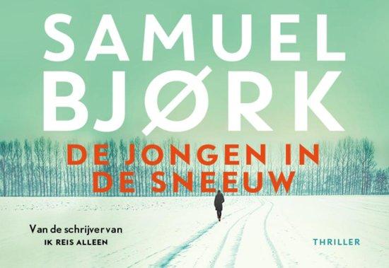 Boek cover De jongen in de sneeuw - dwarsligger (compact formaat) van Samuel Bjørk (Onbekend)