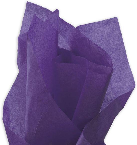 Zijdepapier Donkerpaars | 50 x 75 cm | 17 gr | 240 vel | Vloeipapier Paars / Violet