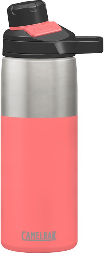 e69d58138fc CamelBak Chute Mag Stainless Vacuum Insulated -Iso Drinkfles - 600 ml - Roze  (Coral