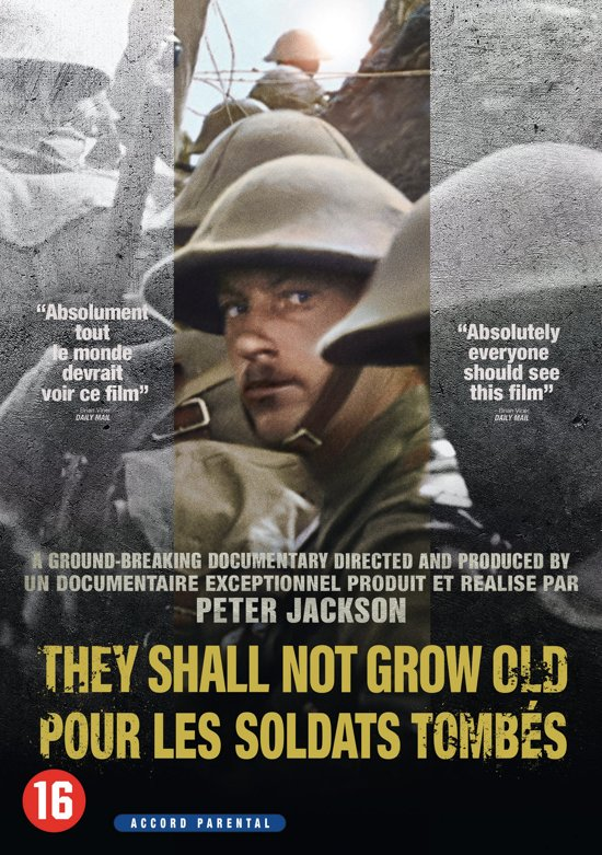 DVD cover van They Shall not Grow Old