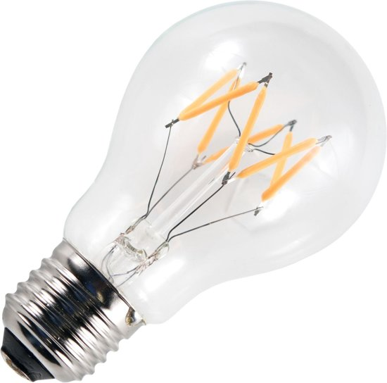 SPL LED filament standaardlamp 6W grote fitting E27