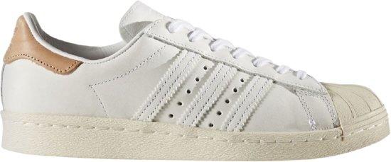 W Maat Wit Adidas Superstar 37 80s qpUggR