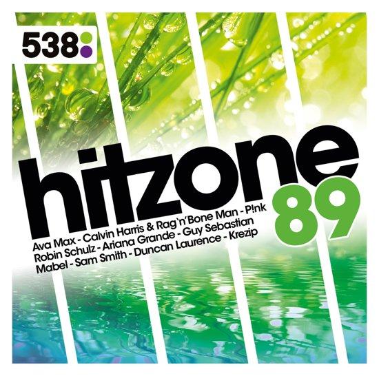 CD cover van 538 Hitzone 89 van Various