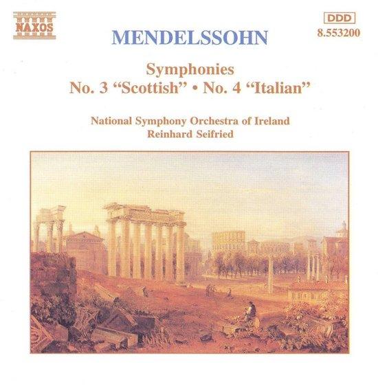 "Mendelssohn: Symphonies ""Scottish"" & ""Italian"" / Seifried"