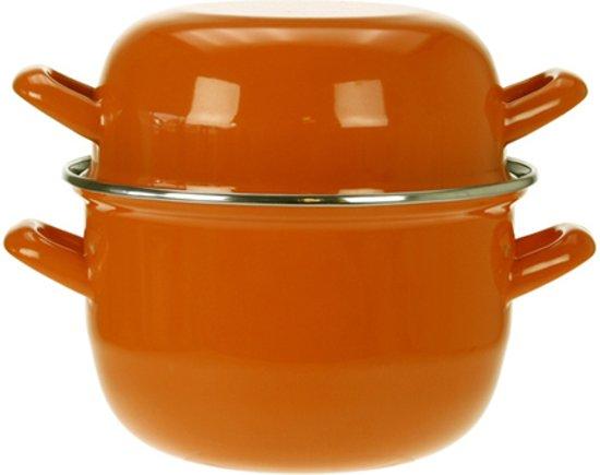 Cosy&Trendy Mosselpan - ? 18 cm - Oranje