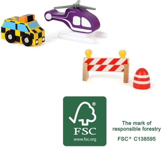 Vliegveld set voor treinbanen en autobanen - FSC®