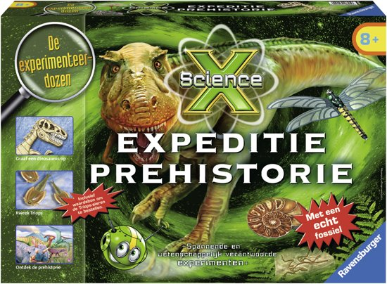 Ravensburger ScienceX® Expeditie Prehistorie