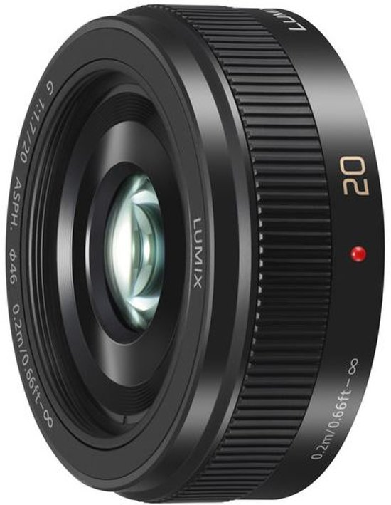 Panasonic Lumix G 20mm f/1.7 II Zwart