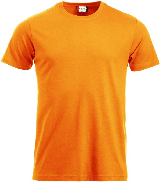 New Classic-T heren sign. oranje l