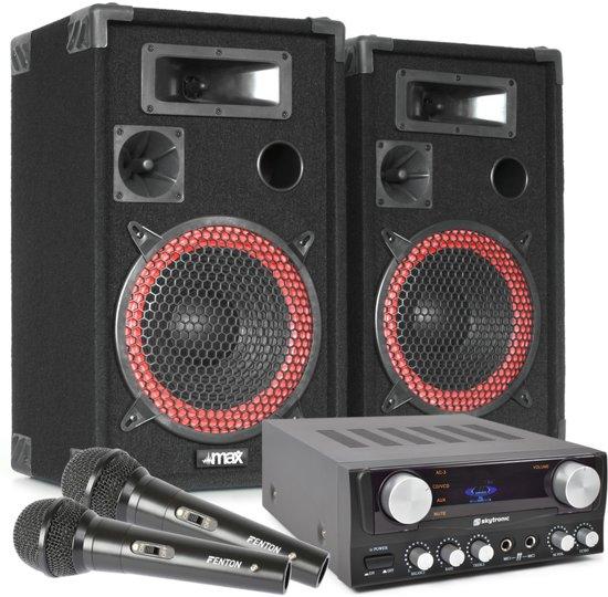 Complete karaoke en zang startersset - Plug and play, direct klaar voor gebruik