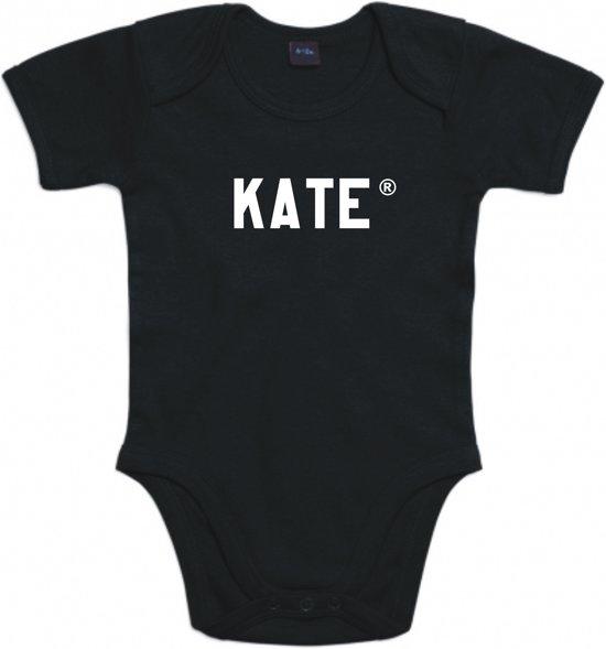 Baby rompertje Kate | Korte mouw 74/80 zwart
