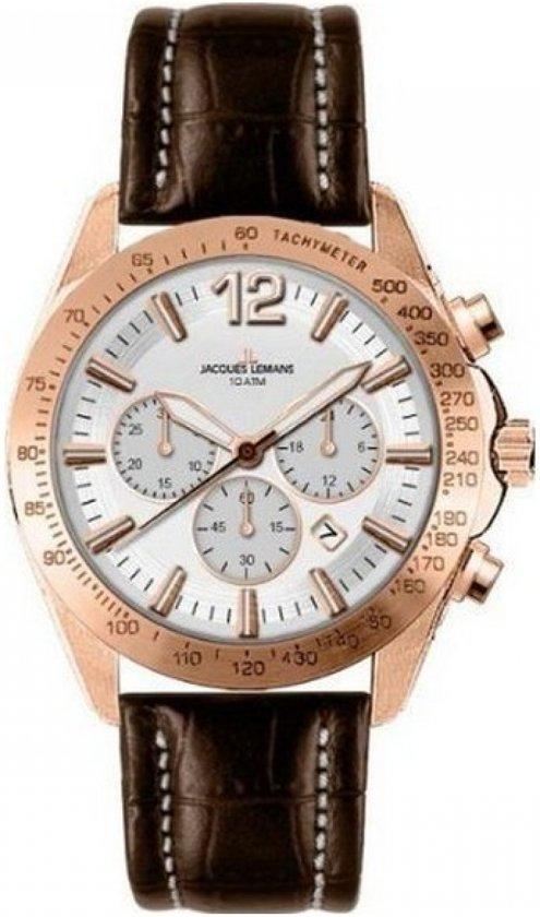 Jacques Lemans - Horloge Heren Jacques Lemans 1-1751D (44 mm) - Mannen -