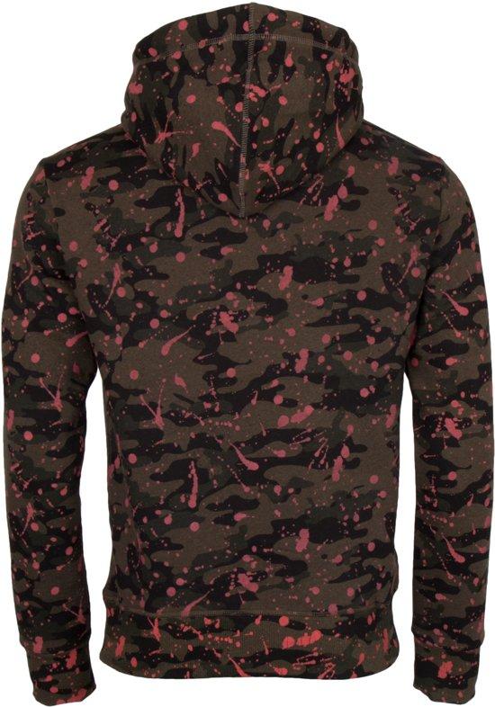 Superdry Mannen roze Donker Hood L Groen Maat Premium zwart Goods Sporttrui ZYxrwpqaZ