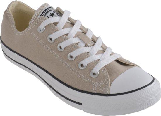 Converse All Star CT Ox - Sportschoenen - Unisex - Maat 39 - Beige  Wit c6b28b84e00