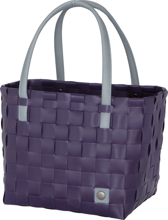 Handed By Color Block - Shopper - Aubergine
