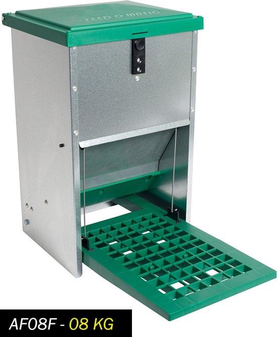 Feedomatic automatische voerbak voor 8kg voer(trapbak)