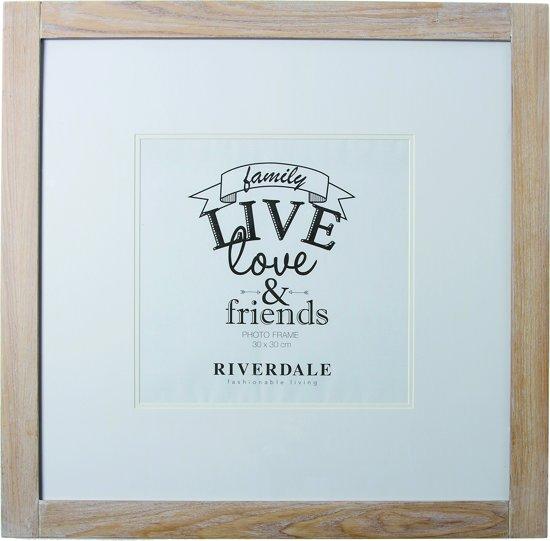 Riverdale Love - Fotolijst - 50x50cm - bruin