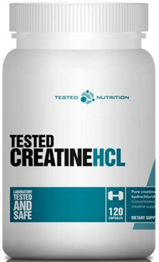 Tested Creatine HCL 120caps