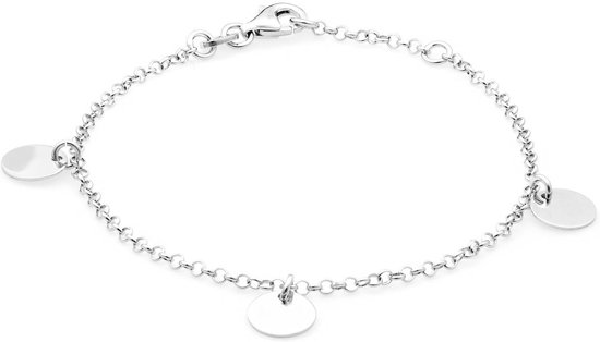 Selected Jewels Evy Nadine Armband  - Zilver