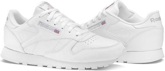 ca4b7c08508 Reebok Dames Sneakers Cl Leather Wmn - Wit - Maat 38,5