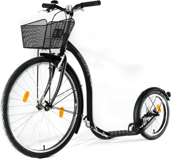 KICKBIKE CITY G4 BLACK 8+