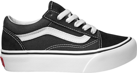 2d9182e85fb Vans Old Skool Platform Sneakers Kinderen - Black/True White