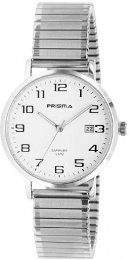 Prisma Stainless Steel Heren horloge P1750