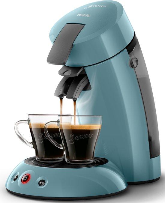 Philips Senseo HD6553/20 - Koffiepadapparaat - Ochtendmist blauw