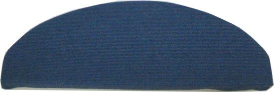 Tapijtkeuze Trapmatten Tripoli - Blauw - 65x21x4 cm