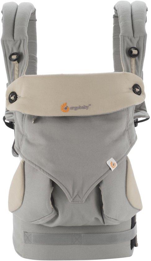 422d6167c93 Ergobaby 360 - Grey Taupe - ergonomische draagzak (alle posities)