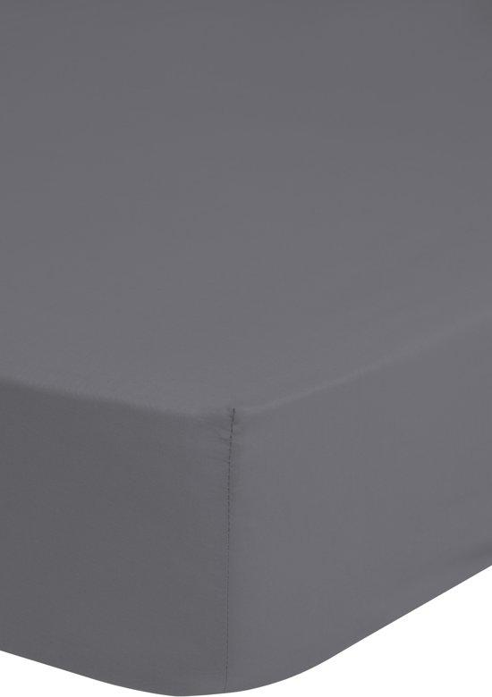 Jersey hoeslaken, grijs - 90 x 200 cm