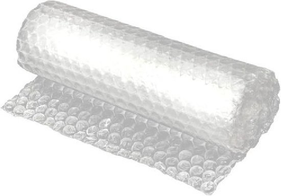 Bubbel Folie | Bubble Wrap inpak folie | Bubbelfolie | Noppenfolie | 50 CM x 5 M Ideal voor verhuizen of knutselen