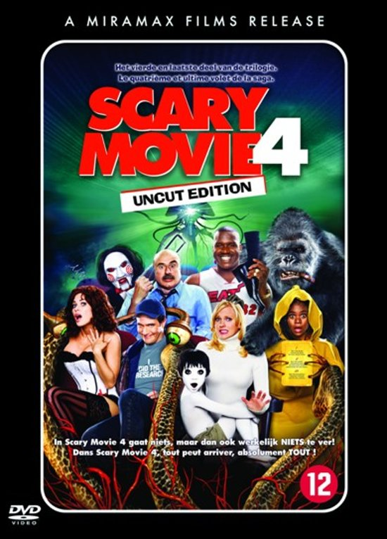 Cover van de film 'Scary Movie 4'